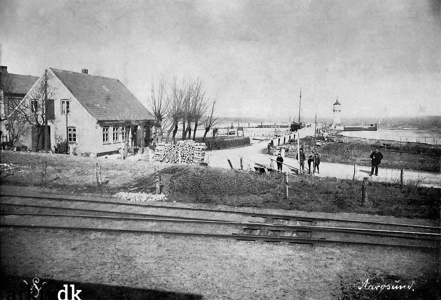 postkort fra ca. 1910 - månedens billed fra Aarøsund