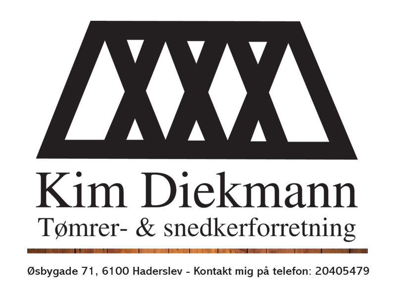 Kim Deichermann - Tømrer og snedkerforretning